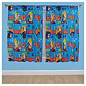 "Fireman Sam Curtains W168xL137cm (66x54"")"
