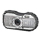 Ricoh Optio WG-4 Camera Silver 16MP 4xZoom 3.0LCD FHD Wtprf 14m