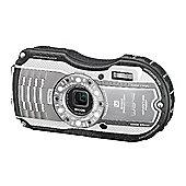 Ricoh Optio WG-4 Camera Silver 16MP 4xZoom 3.0LCD FHD Wtprf 14m