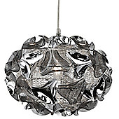 Attractive Chrome Aluminium Ceiling Pendant Light
