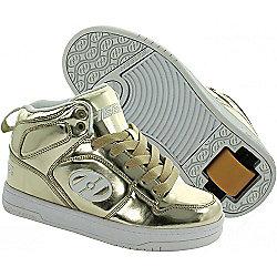 Heelys Flash Gold Chrome Heely Shoe - UK 5