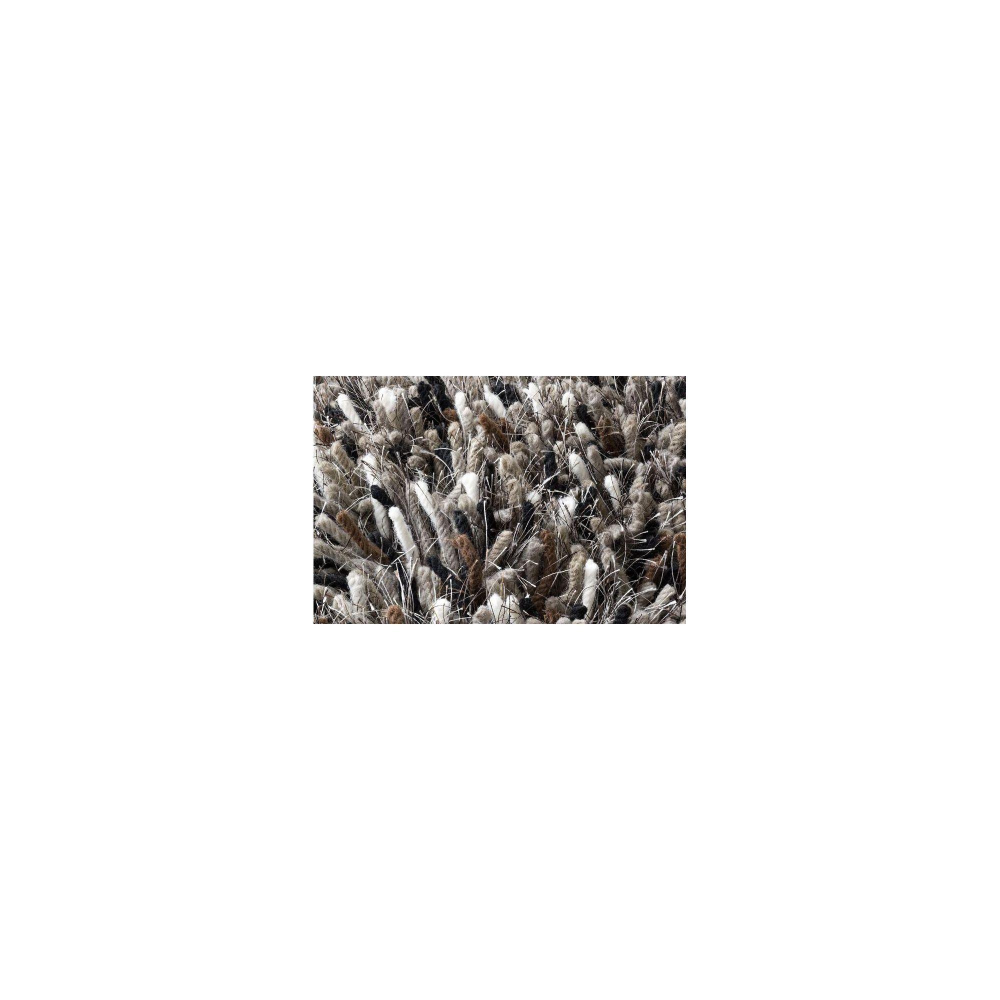 Linie Design Betona Grey Shag Rug - 200cm x 140cm at Tesco Direct