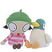Sarah & Duck 8 Inch Talking Sarah Plush Doll & Talking Duck