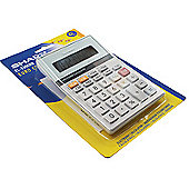 Sharp Calculator Euro Desktop Battery Solar-power 8 Digit 100x152x33mm Ref EL330ERB