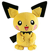 Pokemon XY 20cm Soft Toy - Pichu