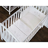 OBaby Hello Little One Quilt & Bumper Set (White)