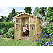 6ft x 6ft Stroud Summerhouse 6 x 6 Garden Wooden Summerhouse 6x6
