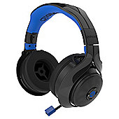 FL-400 Wireless RF Stereo Headset (Black/Blue)
