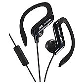JVC HA-EBR80 Sports Ear Clip Headphones - Black