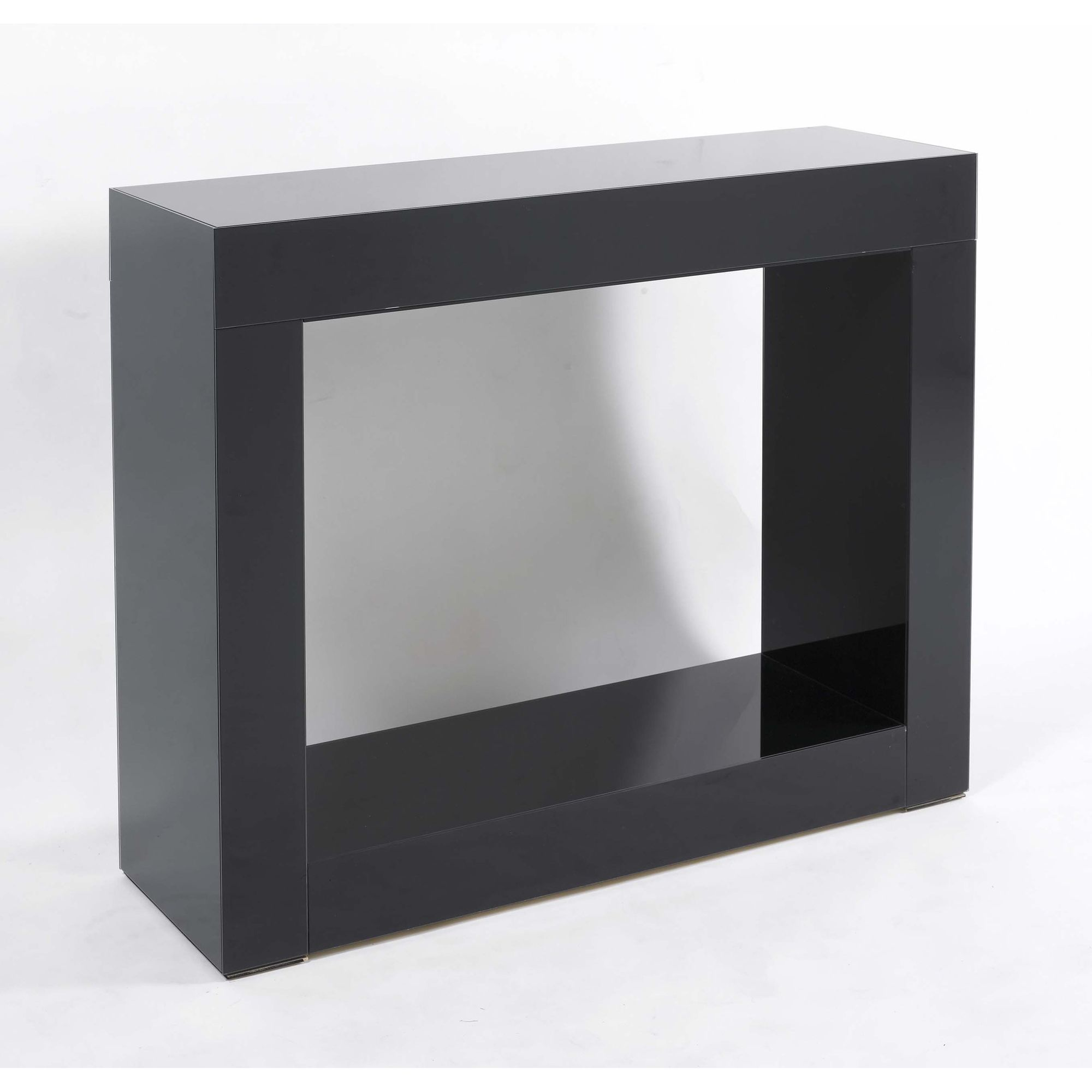 Morris Mirrors Ltd Contemporary Console Table - Black at Tesco Direct