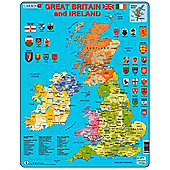 Larsen Card Puzzle Regional Great Britain and Ireland