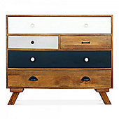 Cult Living Jasmine Multi-Coloured Chest of Drawers - Large