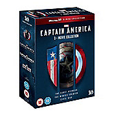 Captain America: 3-Movie Collection 3D Blu-ray