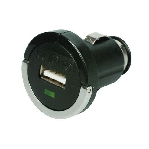 Universal In-Car Mini DC to 2.1A USB Adaptor