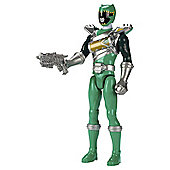 Power Rangers Dino Supercharge Dino Drive Green Ranger Action Figure