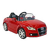 Kids Electric Car Audi TT 12 Volt Red Gloss