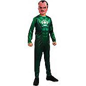 Rubies Fancy Dress Costume - Green Lantern - Sinestro - Child LARGE