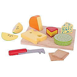 Bigjigs Toys Cheese Board Set