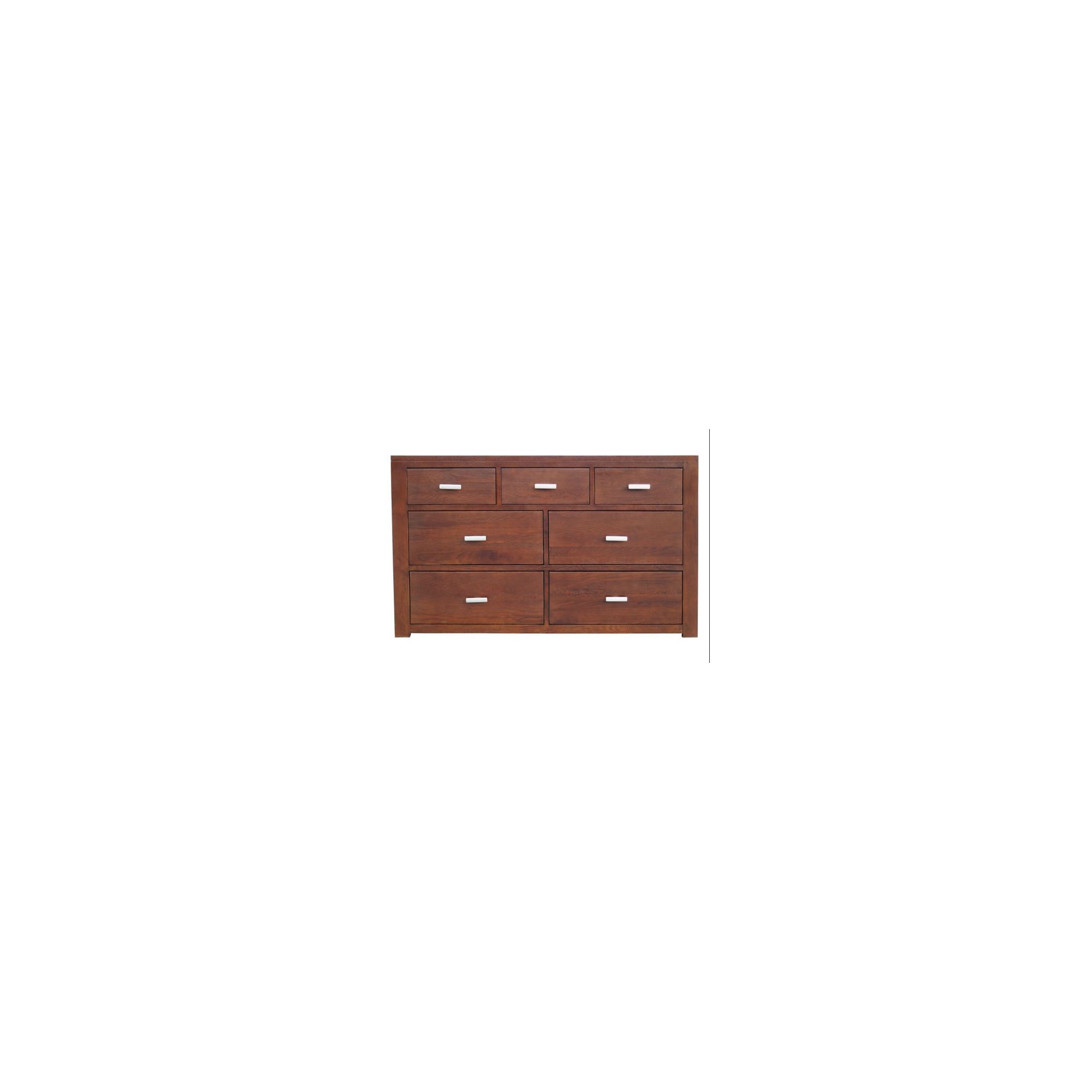 Home Zone Furniture Churchill Oak 2010 3 + 4 Chest of Drawers in Natural Oak at Tesco Direct