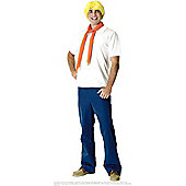 Scooby Doo's Fred - Adult Costume Size: 38-44