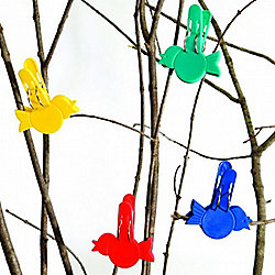 Bird Clips - Plastic Peg Clips