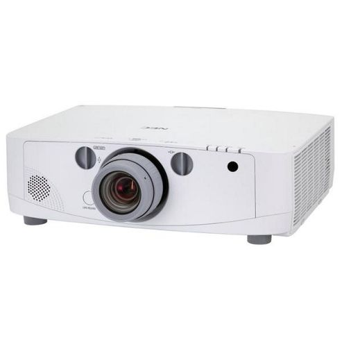 NEC Displays PA550W LCD Projector 2000:1 5500 Lumens 1280x800 7.7kg Networked (without lens)