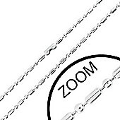 Urban Male Stainless Steel 1.5mm Military Style Chain 20in Long