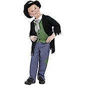 Dodgy Victorian Boy - Child Costume 4-6 years