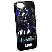 Star Wars Personalised iPhone 5/5s Cover - Classic Darth Vader