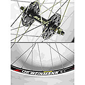 Momentum Solo 700c Wheel: Black Front.