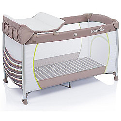 Babymoov Curve Dream Travel Cot (Taupe)