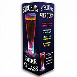 Strobing Colour Changing Pint Glass
