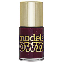 Models Own Diamond Luxe Nail colour - Marquise Maroon