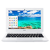 "Acer CB3-111, 11.6"" Chromebook, Intel Celeron, 2GB RAM, 16GB - White"
