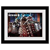 Doctor Who The Daleks Framed Print, 30x40cm