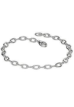 Light Silver Charm Bracelet