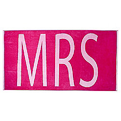 Tesco Mrs Beach Towel