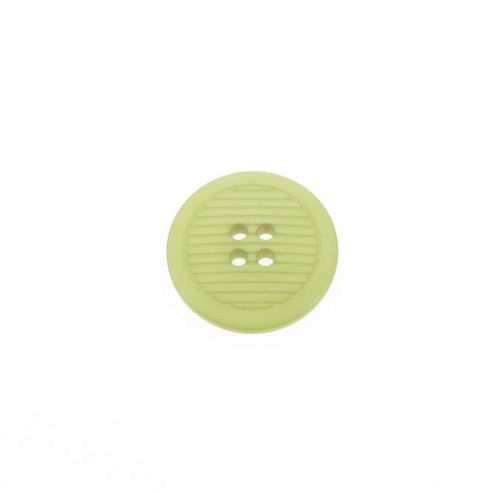 Dill Buttons 25mm Ribbed Pale Green