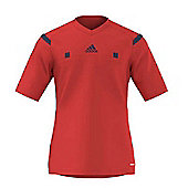 adidas Referee 14 Jersey / Shirt - Red - Red