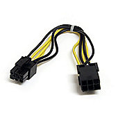 StarTech 8-Inch 6-pin PCI Express Power Extension Cable