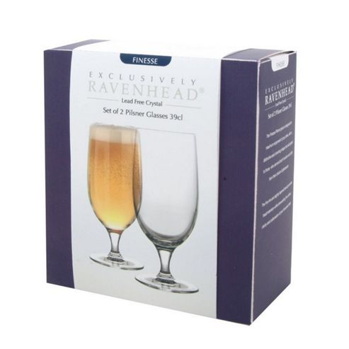 Set of 2 Pilsner Glasses - 39cl