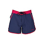 Plain Womens Board Shorts - Blue