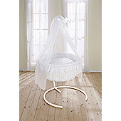 Leipold Dream Rondo Hanging Crib in White