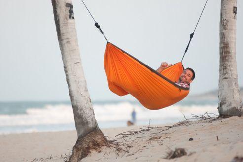 La Siesta Colibri Single Person Travel Hammock - Orange