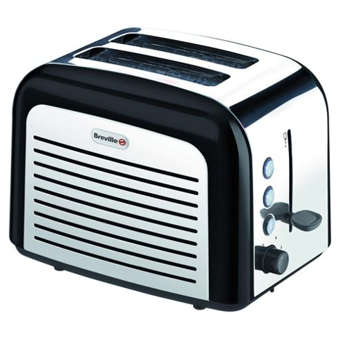 Breville VTT210 2 Slice Toaster Black Stainless Steel