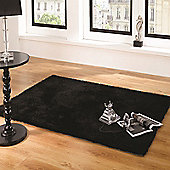 Grande Vista Black 120x170 cm Rug