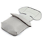 Bebecar Fleece Footmuff (Silver Grey)