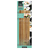KitchenCraft Bamboo Chopsticks, Pack of Ten