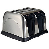 Sabichi Four Slice Stainless Steel Toaster