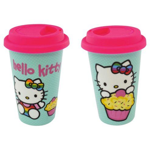 Hello Kitty Travel Mug Cupcakes